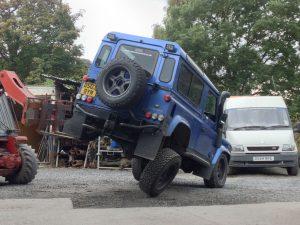 Gwyn's Blue TD5 90