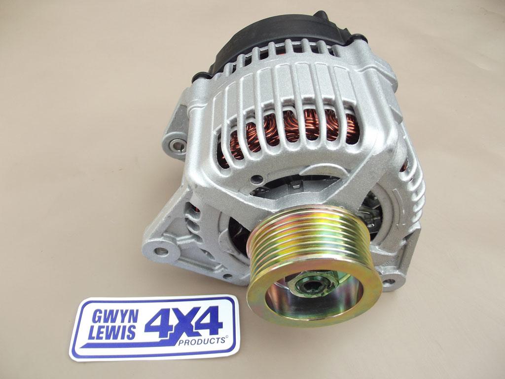 12 Volt 100 Amp 300 Tdi High Output Alternator  Denso    Hella  Gl1109  U2013 Gwynlewis4x4 Co Uk